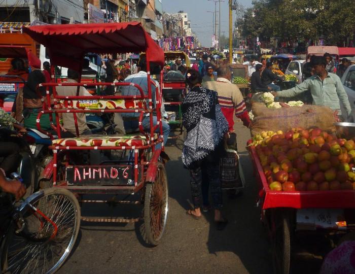 Delhi fruit n veg market