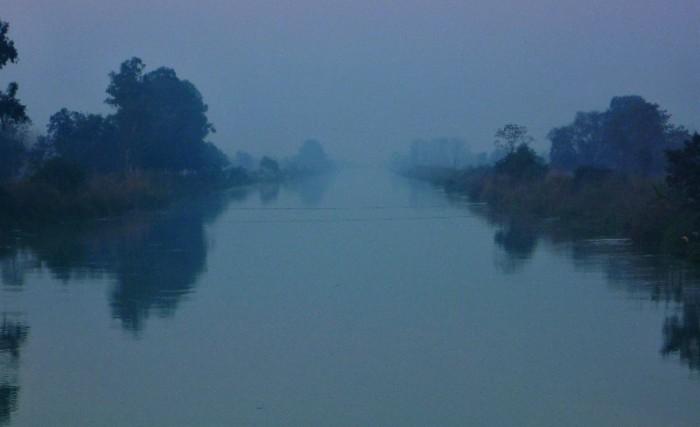 river again