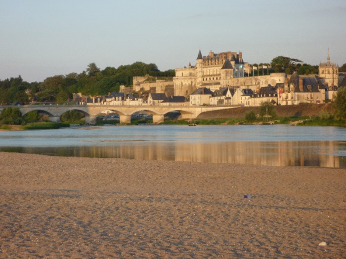Chateau d'amboise on the Loire