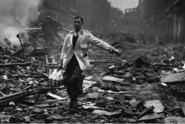 milkman in the blitz