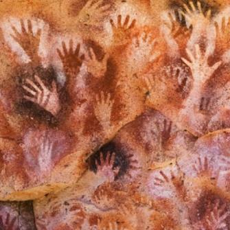 prehistoric handprints